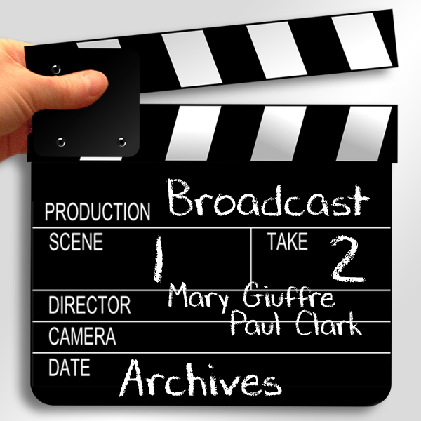 Broadcast production: Clapboard