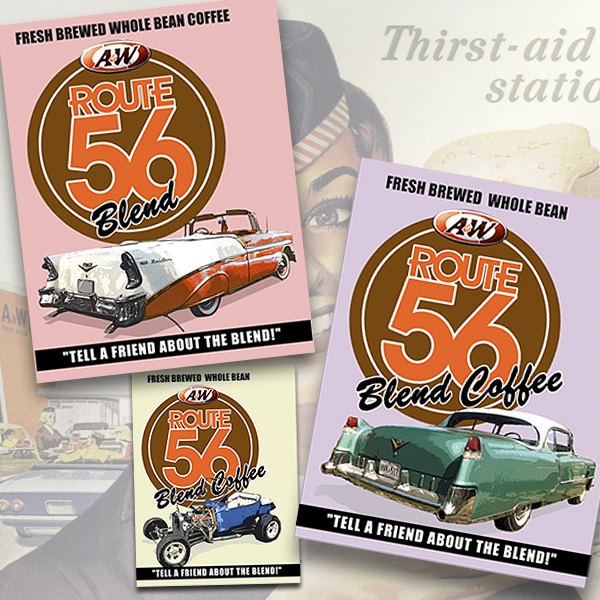 Promo material: A&W Route 56 concept