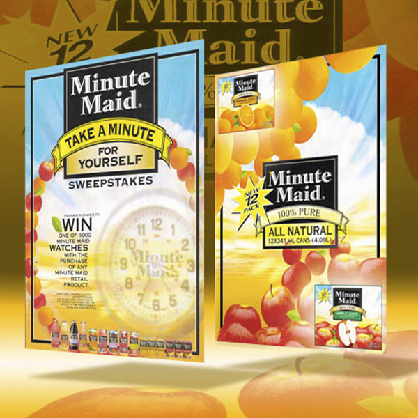 Promo material: Minute Maid