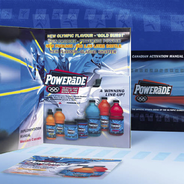 Promo material: Powerade product launch kit