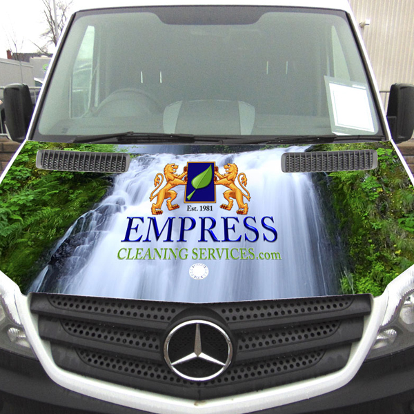 Other designs: Vehicle wrap - Empress hood