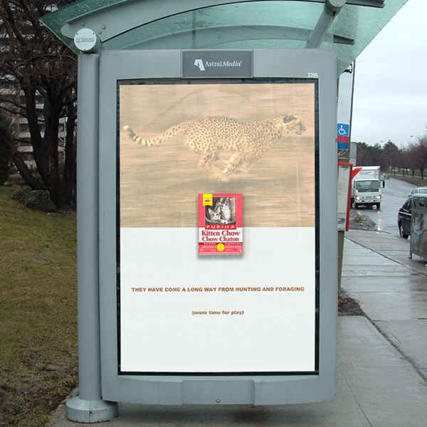 Other designs: Outdoor transit - Purina
