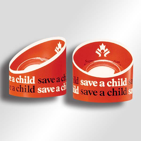Package design: Save The Children