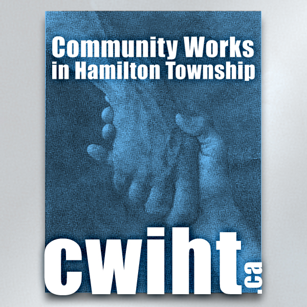 Logo design: Community Works in Hamilton Township (CWIHT)