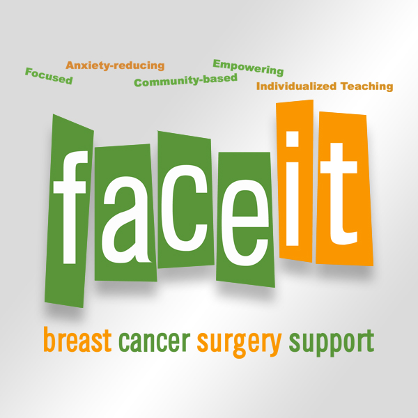 Logo design: FACE IT Cancer surgery Support