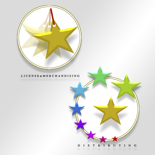 Logo design: First star License & Merchandizing and Distributing