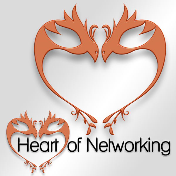 Logo design: Heart of Networking