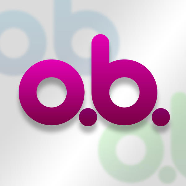 Logo design: o.b. Tampons by Paul L. Clark