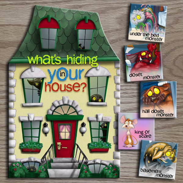 Kids book: What's Hiding in Your House?