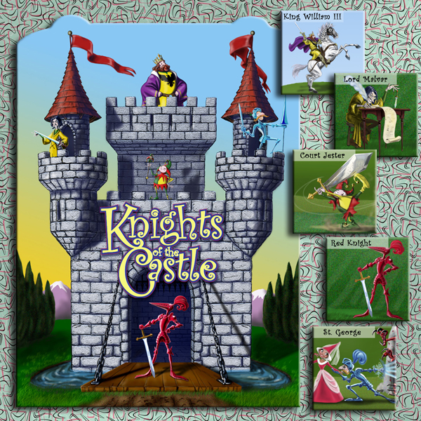 Kids book: Knights of the Castle